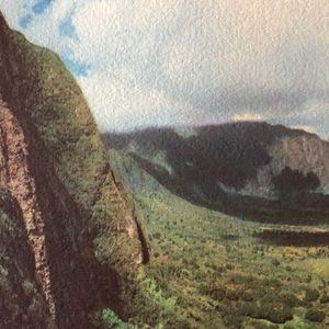 Vintage Wall Art - 1940s photograph Oahu